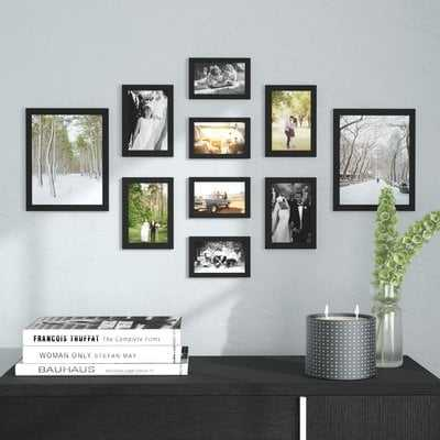 Buckman 10 Piece Collage Picture Frame Set - Birch Lane