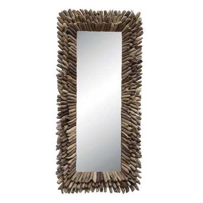 Driftwood Decorative Mirror - Home Depot