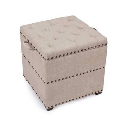 Sierra Storage Ottoman - Wayfair