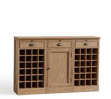 Modular Bar Buffet, Seadrift - Pottery Barn
