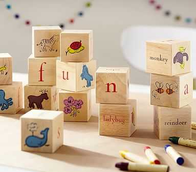 PBK Blocks - Pottery Barn Kids