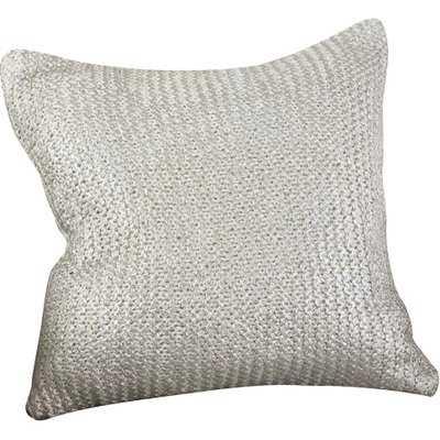 Hiran Knitted Cotton Throw Pillow - Wayfair