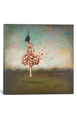 Icanvas 'Boundlessness' Giclee Print Canvas Art, Size 18x18 - Green - Nordstrom