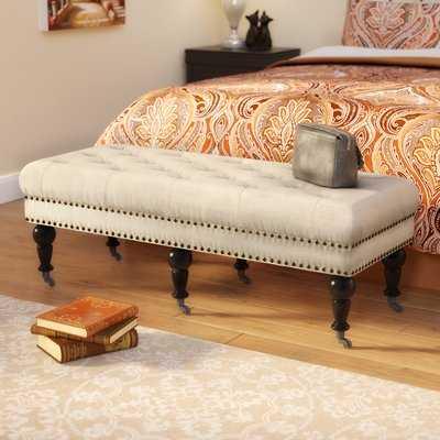 Sands Upholstered Bench - Wayfair