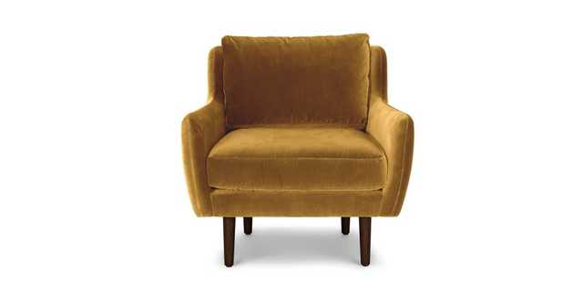 Matrix Yarrow Gold Chair - Article