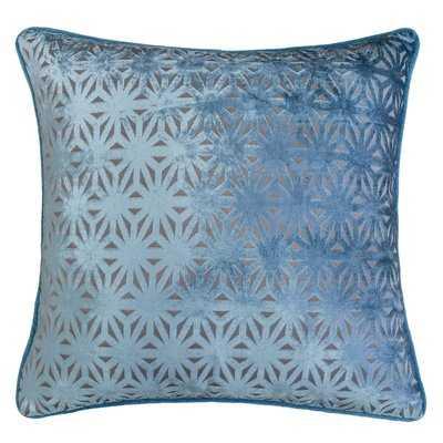 Starr Cut 100% Velvet Throw Pillow - Wayfair