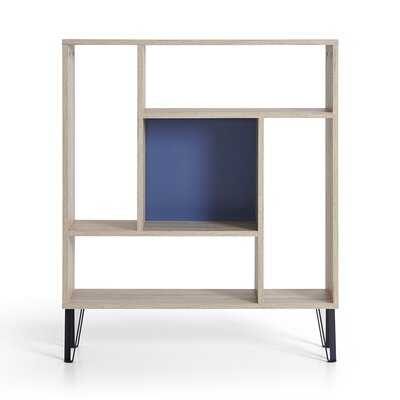 Keeling Geometric Bookcase - Wayfair