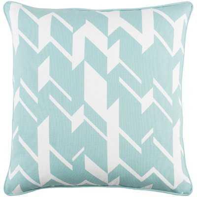 Antonia Square Cotton Throw Pillow Cover - AllModern