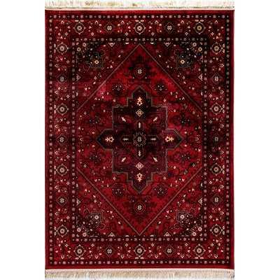 Solange Red Area Rug - Wayfair