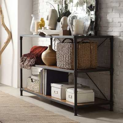 Addison Black Console Table - Home Depot
