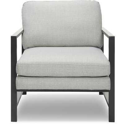Russell Metal Frame Armchair - AllModern