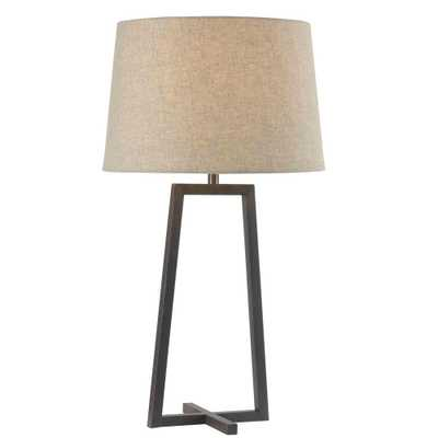 Kenroy Home Ranger 28 in. Oil-Rubbed Bronze Table Lamp - Home Depot