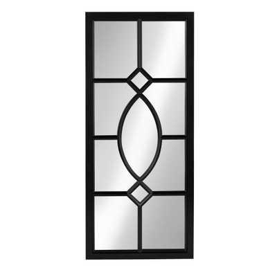 Cassat Rectangle Black Mirror - Home Depot