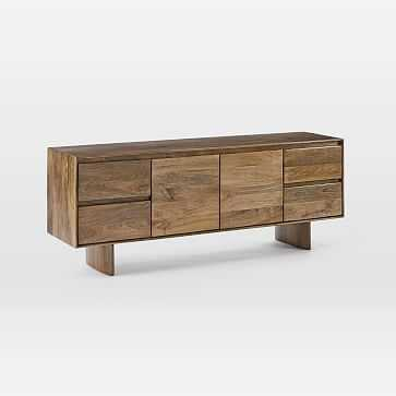 "Anton Solid Wood Media Console (68"") - West Elm"