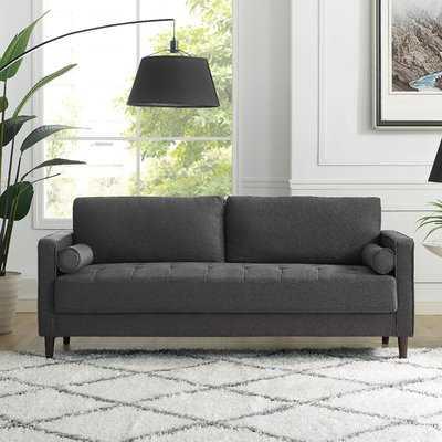 """Garren 75.6"""" Square Arm Sofa - Wayfair"""