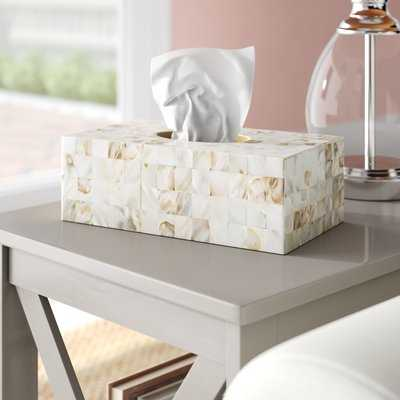 Settlers point Tissue Box Cover - Birch Lane