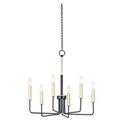 Hatmaker 6-Light Candle Style Chandelier - Wayfair