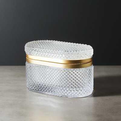 Buchannon Clear Jewelry Holder - CB2