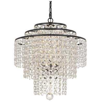 Catchings 3-Light Crystal Chandelier - Wayfair