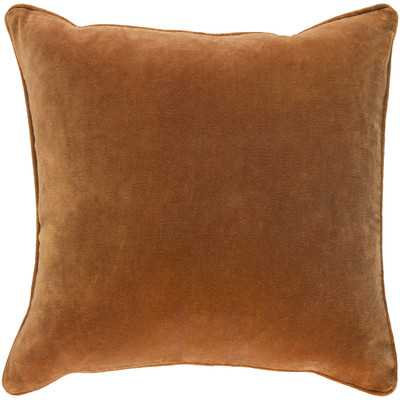 Baylie Square Cotton Velvet Pillow Cover - Wayfair