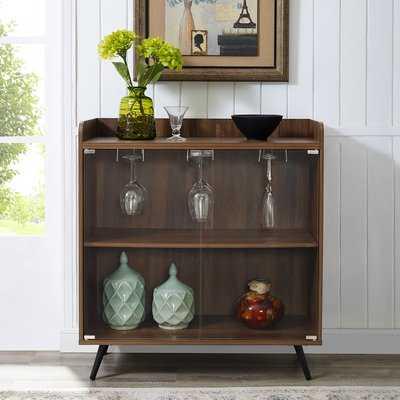 Octavio Glass Door Bar Cabinet - Wayfair