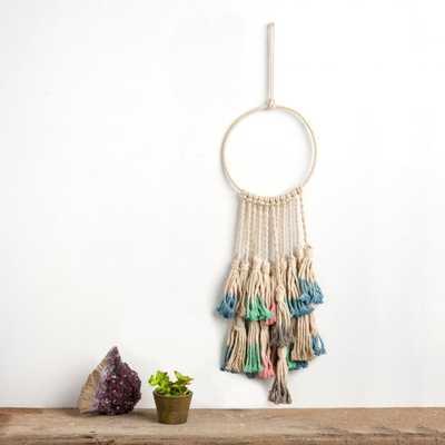 Primitives by Kathy Macrame - Dip Dye Dream Catcher - Wall, 100% cotton - Home Depot