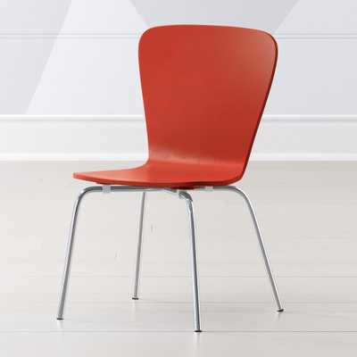 Little Felix Red Kids Chair - Crate and Barrel