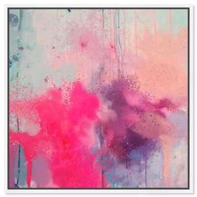 Festival of Colors' Framed Graphic Art Print on Canvas - Wayfair