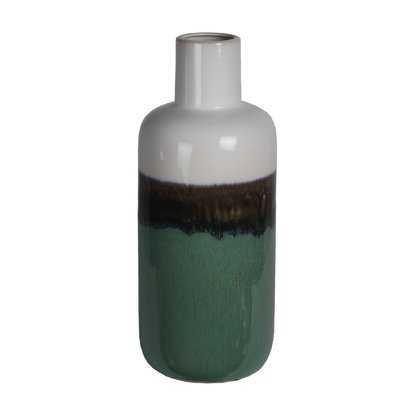 Fried Drip Ceramic Table Vase - Wayfair