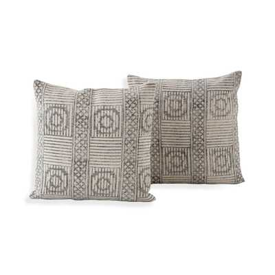"Ines Pillows 20"", Set of 2 - Crate and Barrel"