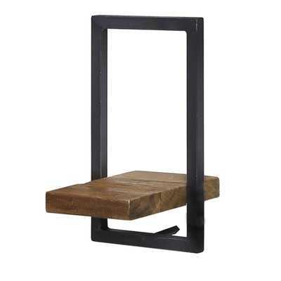 Langridge Metal Frame Wall Shelf - Wayfair