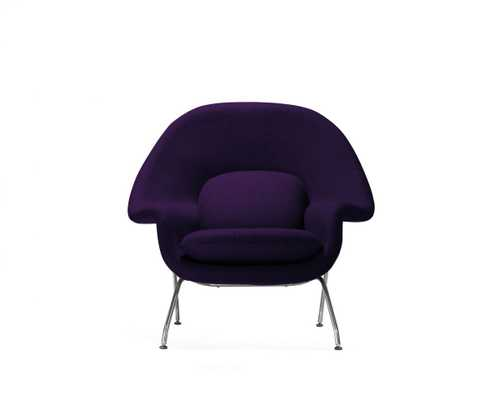 Womb Chair - Purple - Rove Concepts