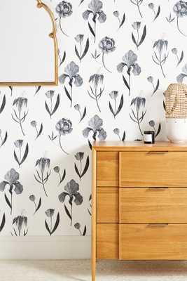 Tile Tile Testo Azuline Wallpaper - Anthropologie