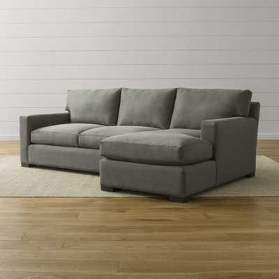 Axis II 2-Piece Sectional Sofa - Crate and Barrel