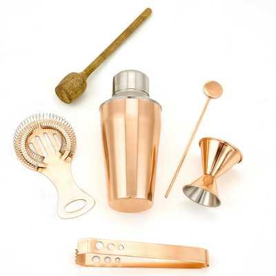 6-Piece Copper Bar Tools Set - Home Depot