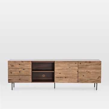 Reclaimed Pine Storage Media Console - West Elm