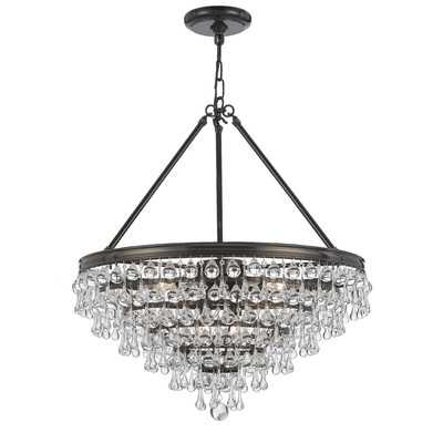 Devanna 8-Light Unique / Statement Tiered Chandelier - Wayfair