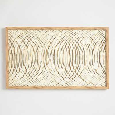 Waves Rice Paper Wall Art by World Market - World Market/Cost Plus
