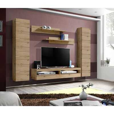 Lindahl Wall Mounted Floating Entertainment Center for TVs up to 70 - Wayfair