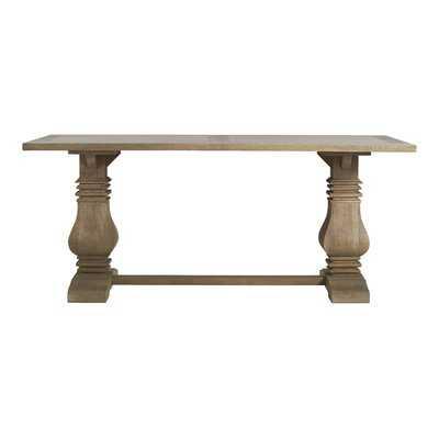 Broadway Pedestal Solid Wood Dining Table - Birch Lane
