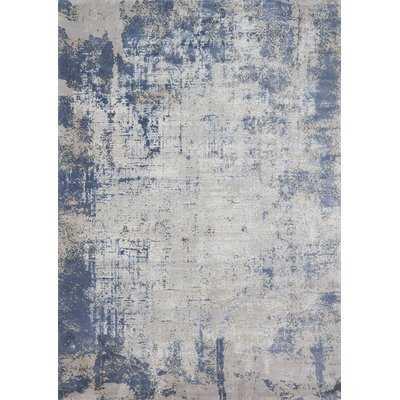 Bourn Denim/Gray Area Rug - Wayfair