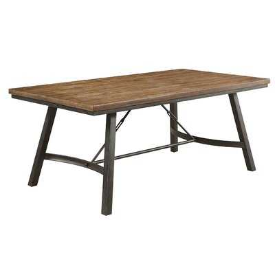 Laurene Metal Frame Dining Table - Wayfair