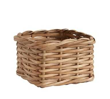 Aubrey Woven Utility Basket - Natural - Pottery Barn