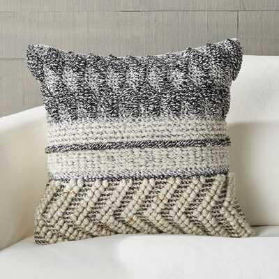 "Varela Kilim Pillow with Down-Alternative Insert 18"" - Crate and Barrel"