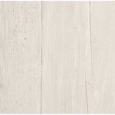 Inspired By Color Wide Wooden Planks Wallpaper, Grey - Home Depot
