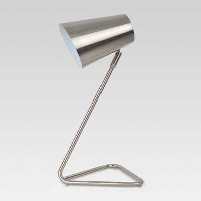 Nesbitt Swan Neck Task Lamp Silver Includes Energy Efficient Light Bulb - Project 62 - Target