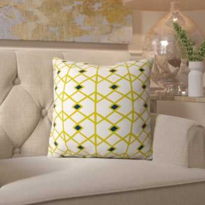 Spence Citron Indoor/outdoor Throw Pillow - Wayfair