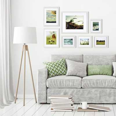 Pinnacle Gallery Perfect White Picture Frame (Set of 7) - Home Depot