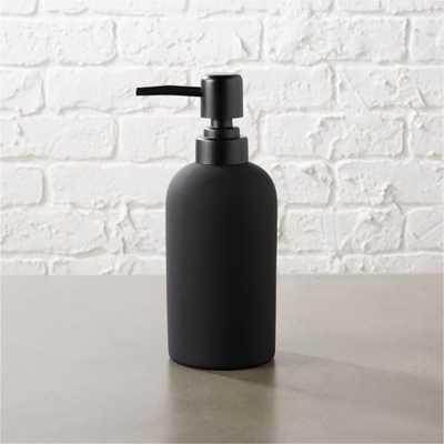 rubber coated soap pump - CB2
