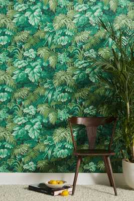 Royal Fernery Wallpaper - Anthropologie